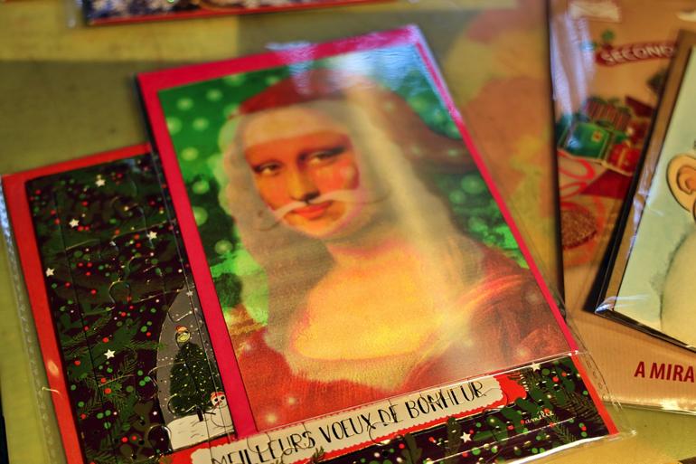角度により絵柄が変わるドイツ製の3Dカード