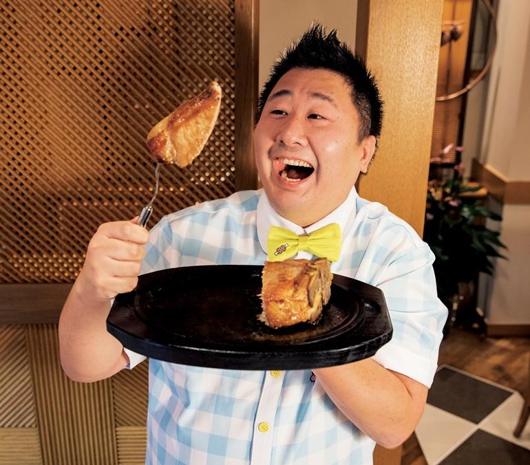豚肉のTボーンステーキ