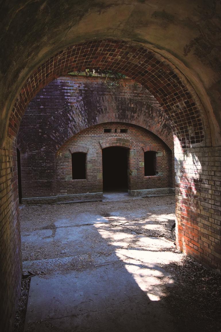 第三砲台跡の入り口