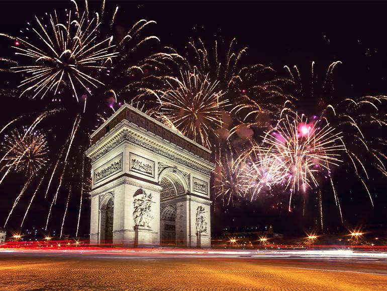 フランスの大晦日のイメージ