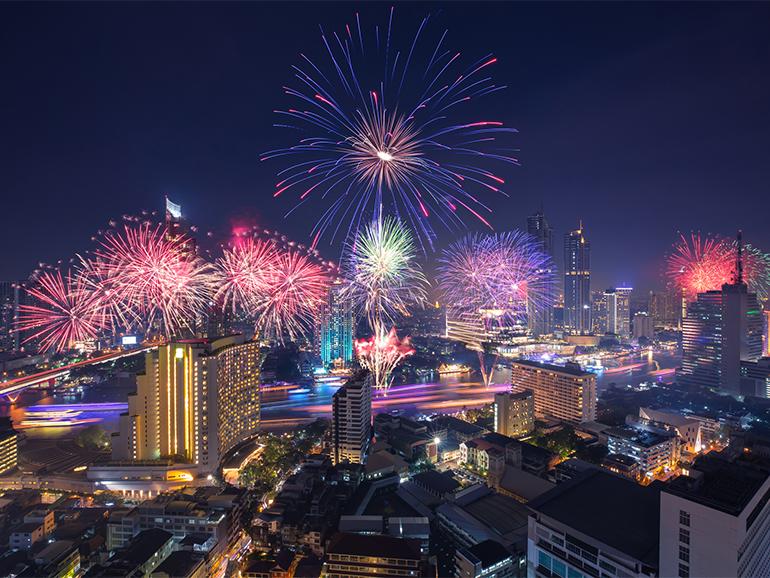 タイの大晦日